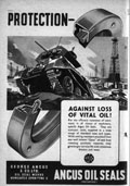 Wartime Angus Oil Seals Poster
